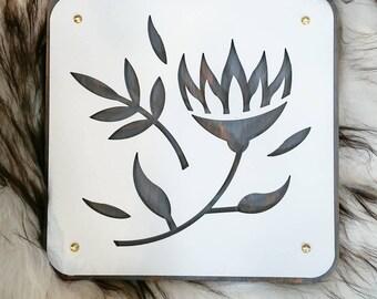 Mexican Flower Steel Art