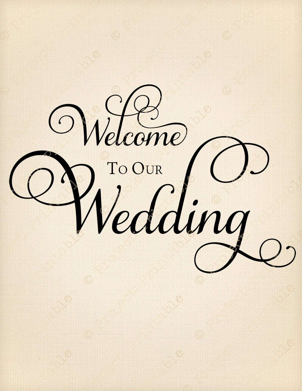 Welcome to our wedding instant digital download fabric zoom junglespirit Choice Image