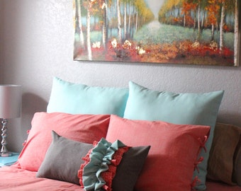 Pillow Sham for your Toddler or Adult Size Bed