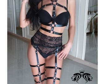 Erotic womens harness