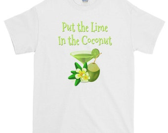 ut The Lime In The Coconut! Cheeky Witch® Plus Size T Shirt 3XL 4XL 5XL