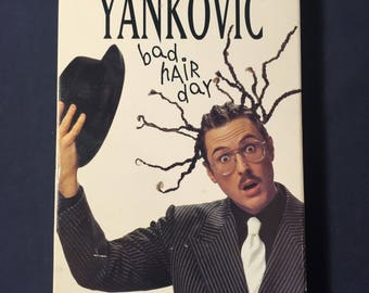 Weird Al Yankovic Bad Hair Day VHS Movie from 1996 - Music Videos - Comedy