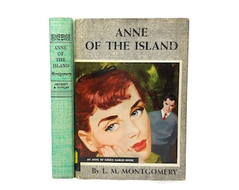 Vintage Anne Of The Island Hardcover Green Gables Book Series Original Dust Jacket