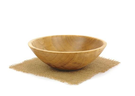 Wood Maple Bowl,  Serving Dish, Candy Dish, Fruit Bowl