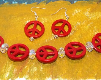 Seeing Peace in Red