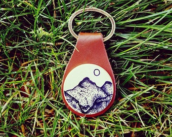 Scafell Pike, Britain's Highest Peak, The Lake District, UK, Key Fob