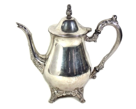 Vintage Silver Plated Coffee Pot by Oneida USA