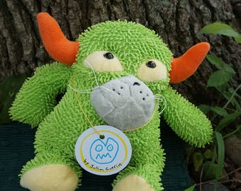 Gruncle. Frankenfuzzies. Soft sculpture. Stuffed animal. Toy.