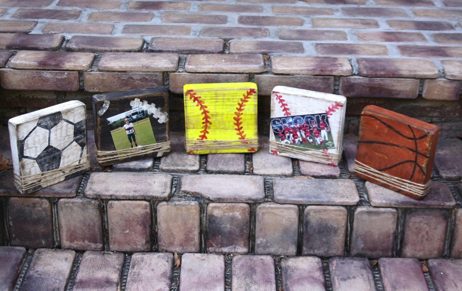 Block picture frame sports themed picture frames handmade zoom jeuxipadfo Images