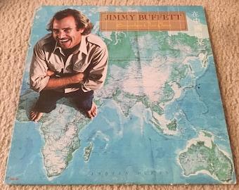 Jimmy Buffett Somewhere over China Vinyl Record LP