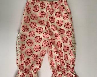 Toddler Girls Ruffle Pants - size 2T - Ready to Ship