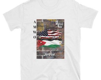 AMWO T-shirt - USA/Jordan