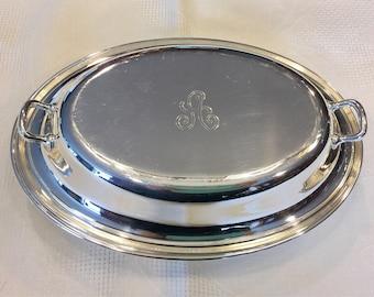 Gorham Silver Plate Serving Bowl