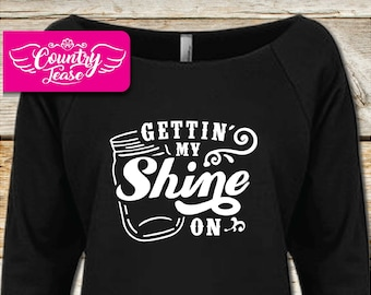 Country festival, Country music Long Sleeve, Country concert, Country shirt, Country girl, Country, tanks, Getting My Shine on