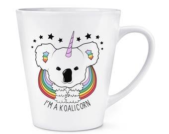 I'm A Koalicorn Unicorn 12oz Latte Mug Cup