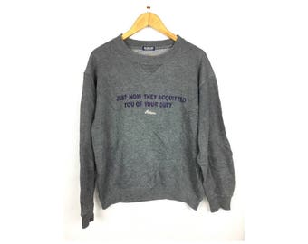 BOBSON Long Sleeve Sweatshirt  Pull Over Medium Size