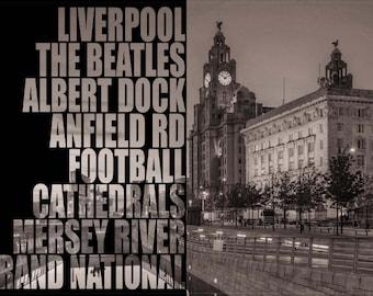 City of Liverpool Digital Print