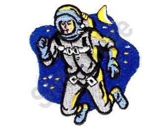 Rocket Man - Machine Embroidery Design, Astronaut