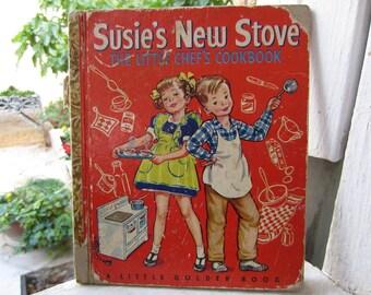 Susie's New Stove  Little Golden Book