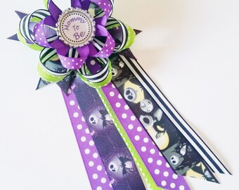Nightmare Before Christmas Baby Shower Corsage, Jack Skellington Mommy To  Be Pin, Jack And