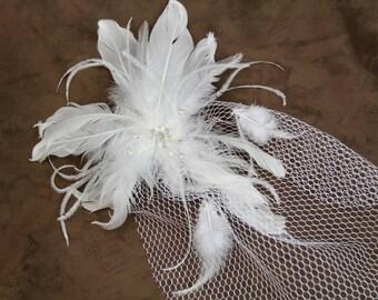 Birdcage Veil Bridal Comb