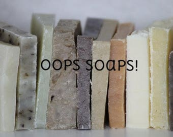 Oops Soaps!! - Discounted Soaps