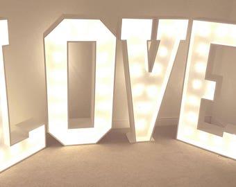 LOVE Light Letters