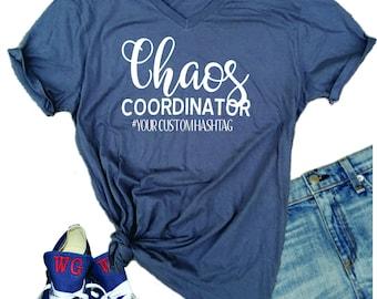 Chaos Coordinator t shirt, customized t shirt