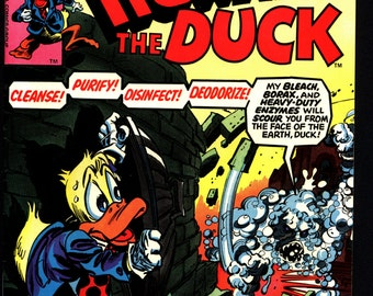 Marvel Comics 1977 HOWARD the DUCK #20 SUDD Steve Gerber Gene Colan Existential Anthropomorphic Funny Animal Comic Book Social Satire