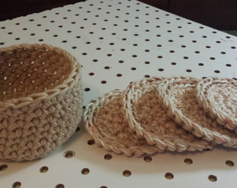 Face Scrubbers (4)/Basket