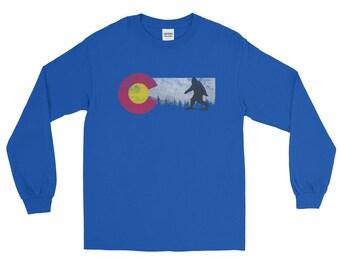 Colorado Sasquatch Long Sleeve T-Shirt