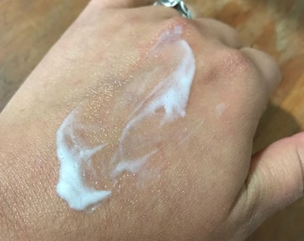oil-free goats milk hydrating lightweight lotion skin milk | 2 or 8 oz | chamomile cucumber guava papaya watermelon