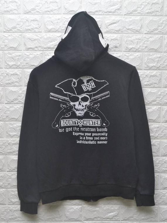 Skull streetwear Hunter Hoodie Bounty Pirate sweater japan AtEqxXwx