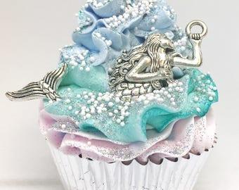 Imperfect Mermaid Cupcake Bath Bombs