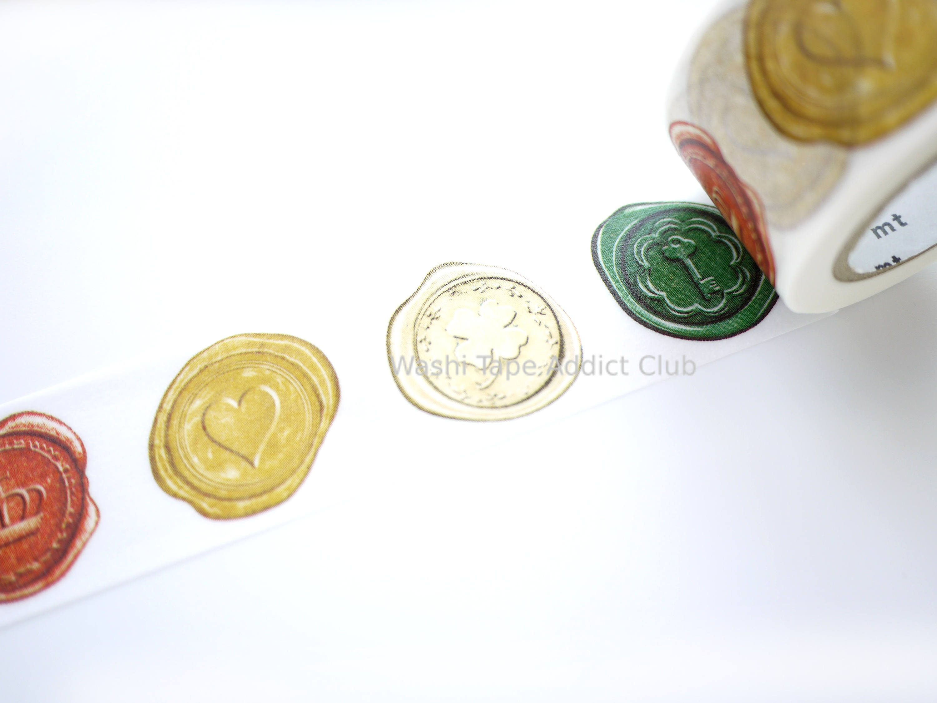 Wax seal for decoration 54