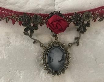 Katherine's Choker Necklace Inspired In Vampire Diaries