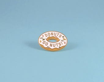 Donutz Enamel Pin - Gold