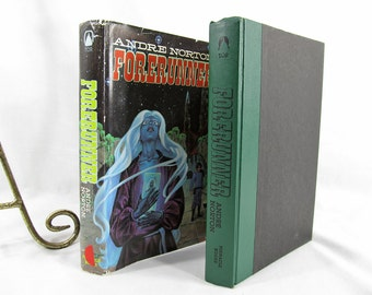 Forerunner, Andre Norton, Published by Pinnacle Books 1981 3rd edition Hardcover w/Dust Jacket BCE Vintage Sci-Fi Book Illustrated