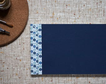Blue Tiles Japanese Softcover Notebook in A5
