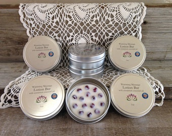 Warming Massage Lotion Bar