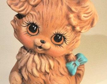 Brown Ceramic Dog | Brown Dog | Brown Puppy | Ceramic Puppy | Ceramic Dog | Dog Ceramic | Puppy Ceramic | Dog Figurine