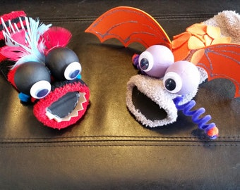 Sock Puppet Kits - Dragon and Monster