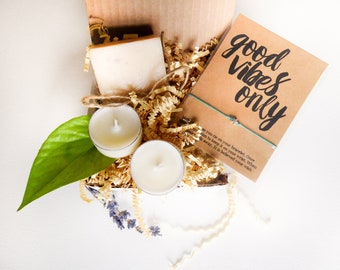 Well Wishes Gift Under 20 Get Well Soon Gift Thinking of You Gift Recovering Gift Good Luck Gift Positive Thinking Gift Hippie Gift for Her