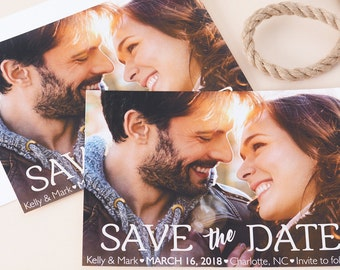 """Classic Cheer - Save The Date Cards - 5"""" x 7"""" Wedding Announcement Cards - Save The Dates - Personalized Save the Dates - Photo Cards"""