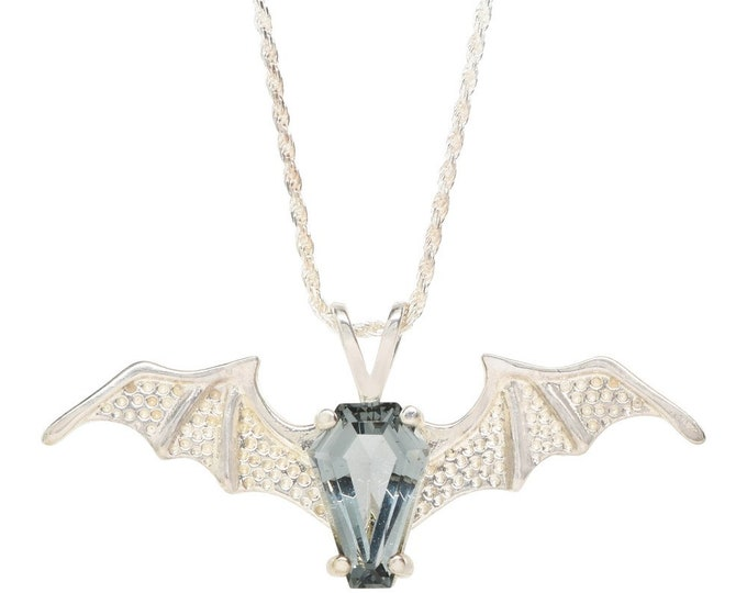 Coffin Gems® - 10CT BATWING PENDANT