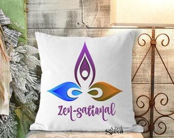 Coussin Zen, Zen, Zensational, coussin, Arts textiles, méditer