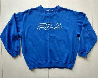 Vtg HUMMEL Hoodie Sweatshirt / 90s retro old school / rap hip hop sport kappa nike adidas fila puma tommy hilfiger outdoor jacket / Size XL S1rJGuaX6
