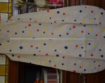 Sleeping bag 100% cotton - 18 months - stars