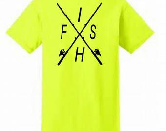 Fish Shirt / Fishing Shirt / Fish TShirt / Men's Tee