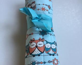 Crochet roll (owls mint)